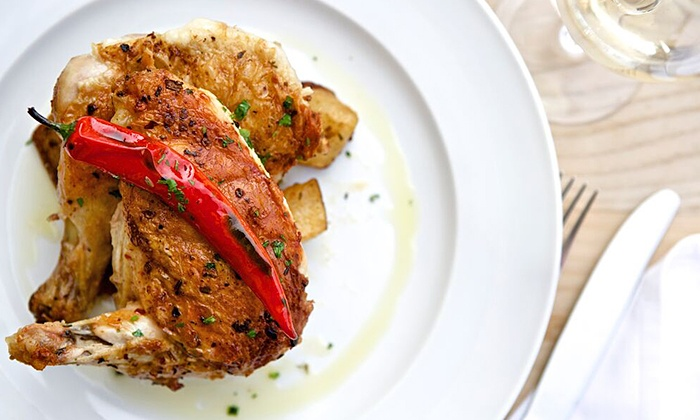 Macelleria - Meatpacking District: $99 for an Italian Dinner with Entrees, Sides, Wine, and Dessert for Two at Macelleria ($152 Value)