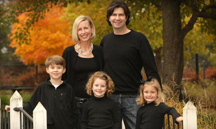 Christopher Clark Designer Portraits - Downtown Wichita: Autumn Family Portraits from Christopher Clark Designer Portraits (Up to 88% Off). Two Redemption Periods Available.