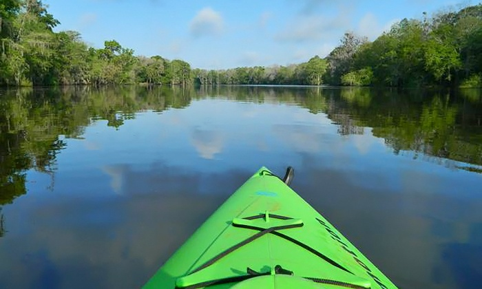 Anderson's Outdoor Adventure - ANDERSON'S OUTDOOR ADVENTURES: Downriver Kayak Trip with Shuttle for Two or Four from Anderson's Outdoor Adventure (Up to 50% Off)