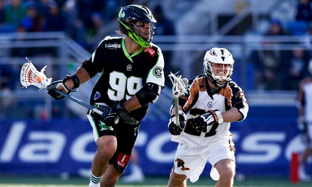 $19 for a New York Lizards Lacrosse Package with Autographed Poster at James M. Shuart Stadium on May 16 or June 5 ($40 Value)