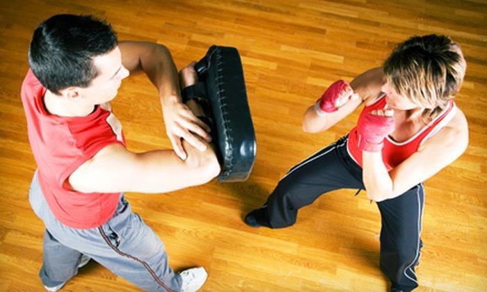 YMA Krav Maga & K.O. Bag Fitness - YMA Krav Maga: 5, 10, or 15 Krav Maga or KO Bag Workout Classes at YMA Krav Maga & K.O. Bag Fitness (Up to 81% Off)