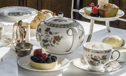 image for Afternoon Tea With Bubbly For Two for £19 at Hardwicke Hall Manor Hotel