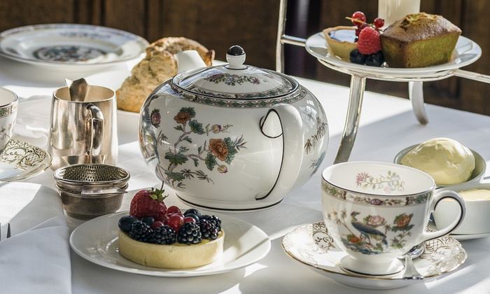 Afternoon Tea With Bubbly For Two Hardwicke Hall Manor