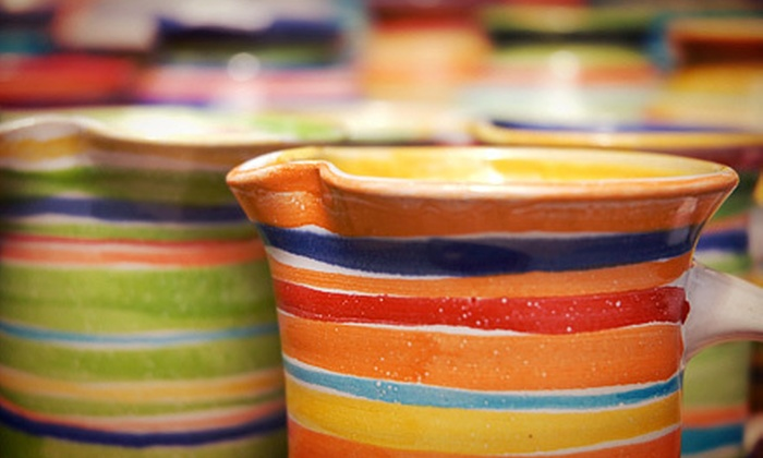 Austin Handmade Arts Market - Bouldin: Two-Session Pottery Class for One or Two at Austin Handmade Arts Market (Up to 51% Off), Plus Complimentary Wine or Beer