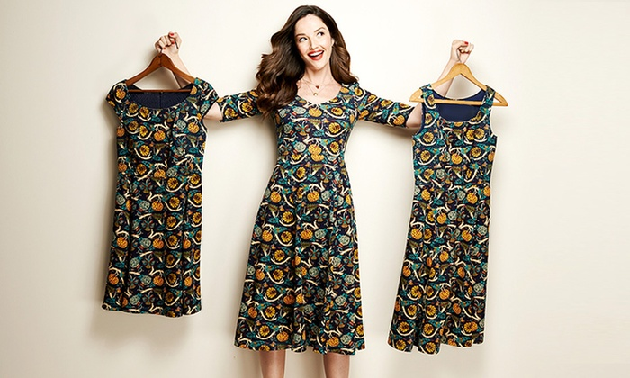 eShakti: Women's Custom Fit Clothing from eShakti (Up to 51% Off). Two Options Available.