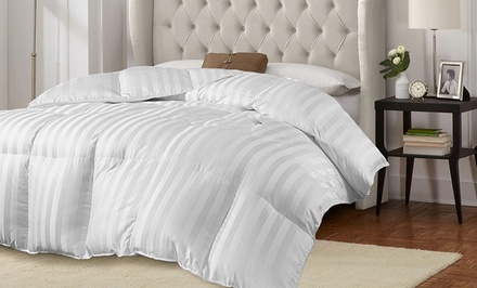 groupon daily deal - Hotel Grand 500TC European Luxury White Down Comforter. Multiple Sizes Available from $99.99–$199.99. Free Returns.
