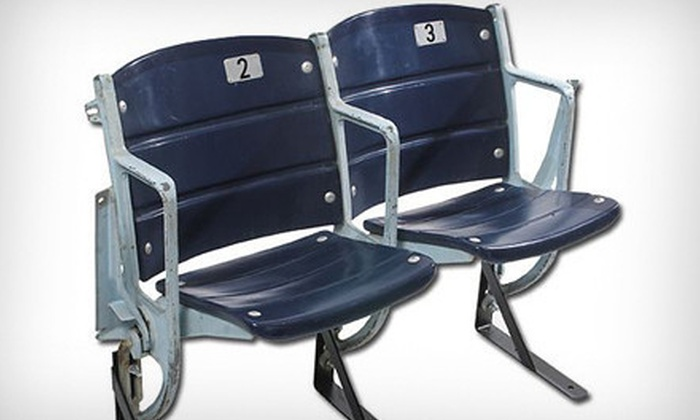 The Cowboy House - The Cowboy House: One, Two, or Three Texas Stadium Seats from The Cowboy House (Up to 59% Off)