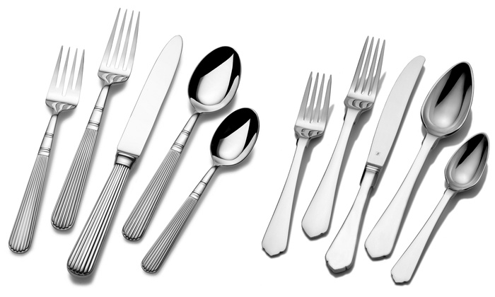 towle 5piece stainless steel flatware sets towle 5piece
