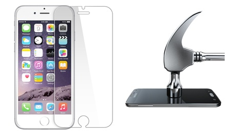 Shatterproof Screen Protector for iPhone 4/4s, 5/5s, 6, and 6 Plus and Samsung S4 or S5 from $3.99-$7.99