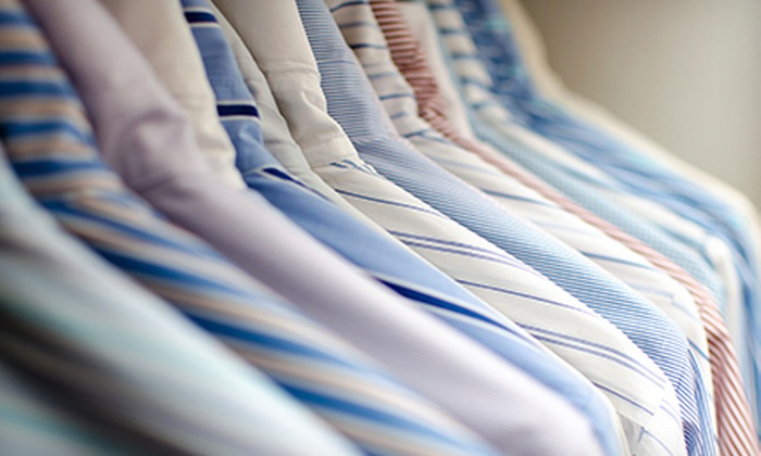 Dry Clean Super Saver - Heritage Plaza: $29 for $75 Worth of Dry-Cleaning Services from Dry Clean Super Saver