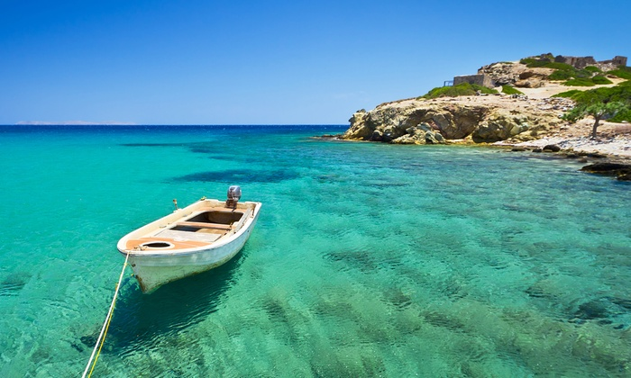 Crete 3 7 night 4 all inclusive break with flights at for Cheap mini vacations for couples