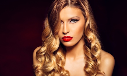 Haircut with Optional Partial or Full Highlights or Flatiron from Cut Too a T - Tanya Baker (Up to 53% Off)