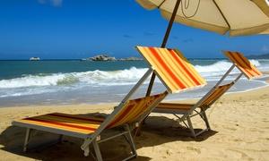 Lido Fly Beach: Letojanni - Ingresso con lettini, ombrelloni e light lunch per 2 o 4 persone al Lido Fly Beach (sconto fino a 71%)