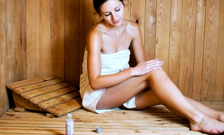 Three or Five Infrared Sauna Sessions at The Hot Spot (Up to 50% Off)