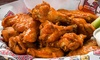 BreWingZ Sports Bar & Grill - Multiple Locations: Wings, Burgers, and American Fare at BreWingZ Sports Bar and Grill (Half Off)
