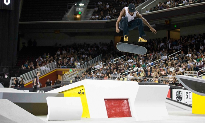 Street League Skateboarding - Prudential Center: One Ticket to the Street League Skateboarding World Tour at Prudential Center on Sunday, August 23 (40% Off)