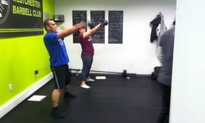 Westchester Barbell Club: Four Weeks of Unlimited Boot-Camp Classes at Westchester Barbell Club (65% Off)