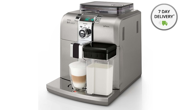 Saeco Syntia Cappuccino Automatic Espresso Machine: Saeco Syntia Cappuccino Automatic Espresso Machine (Refurbished). Free Shipping and Returns.