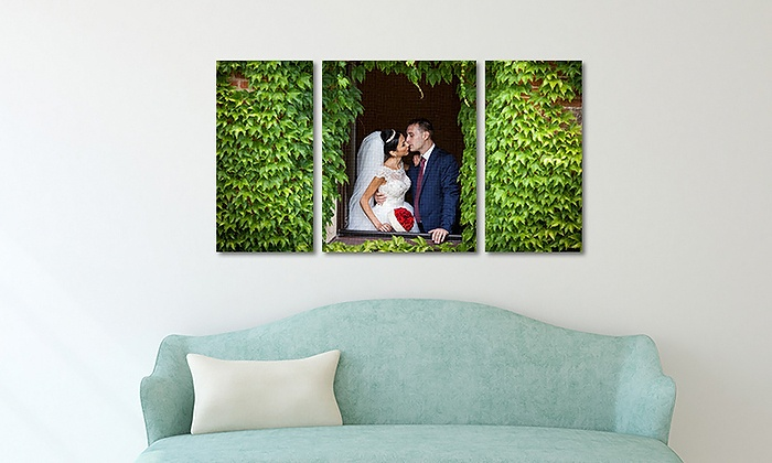 Picture it on canvas cluster of three custom canvas prints from picture it on canvas