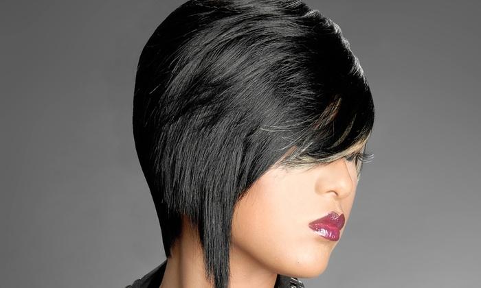 G Casamera Hair Salon - Kingsessing: Haircut, Color, or Weave at G Casamera Hair Salon (Up to 56% Off)
