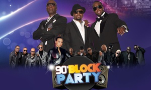 Up to 27% Off Guy, Teddy Riley, Jagged Edge, 112, and Dru Hill at Memphis 90s Block Party feat. Guy, Teddy Riley, Jagged Edge, 112, and Dru Hill, plus 6.0% Cash Back from Ebates.