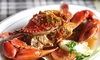 Up to 50% Off Crab Plates or Oysters for Two