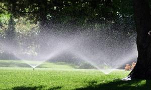 Silcan: $50 for Rain-Sensor Sprinkler-System Installation from Silcan ($100 Value)