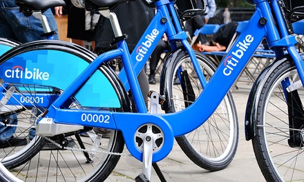 24-Hour or Seven-Day Bike-Rental Passes from Citi Bike in New York (Up to 57% Off). Four Options Available.