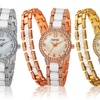 August Steiner Women's Watch-and-Bracelet Set
