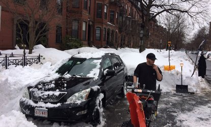 $20 for $40 Worth of Snow Removal — Tough Guys Snow Removal