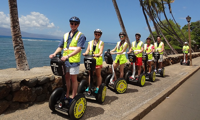 Segway Maui - Lahaina: 90-Minute Segway Tour for One, Two, or Four People from Segway Maui (Up to 67% Off)