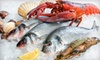 Clark Fish: Seafood Dinner for Four, Lobster Dinner for Four, or Bountiful Seafood Dinner for Four from Clark Fish (Up to 53% Off)