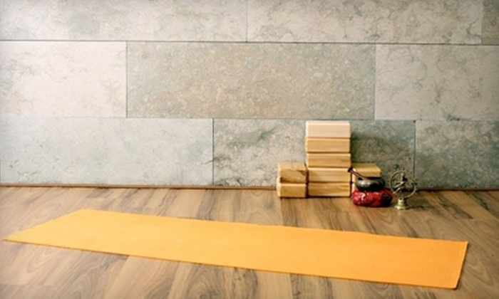 Prana Yoga - Coral Gables: 20 Classes or Unlimited Classes for One Year at Prana Yoga (Up to 75% Off)