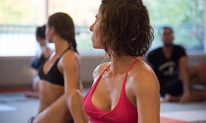 District Yoga And Fitness: 10 or 20 Yoga Classes at District Yoga (Up to 60% Off)