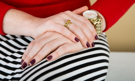 One or Three Natural or Gel Manicures at Caruso Aesthetics (Up to 64% Off)