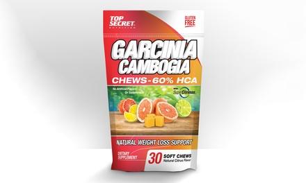 garcinia cambogia chews 60 hca