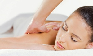 Angela D Massage: One or Three Swedish or Deep-Tissue Massages with Sugar Food Scrub at Angela D Massage (Up to 45% Off)