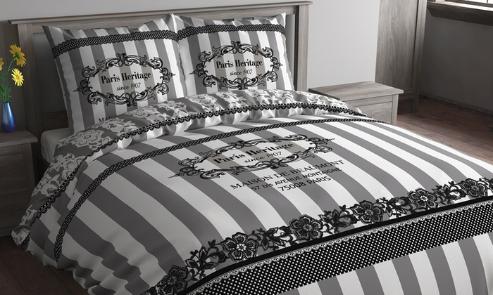 housse de couette sweet dreams groupon. Black Bedroom Furniture Sets. Home Design Ideas