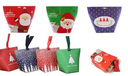 10-Pk Assorted Christmas Gift Bags | Groupon Goods