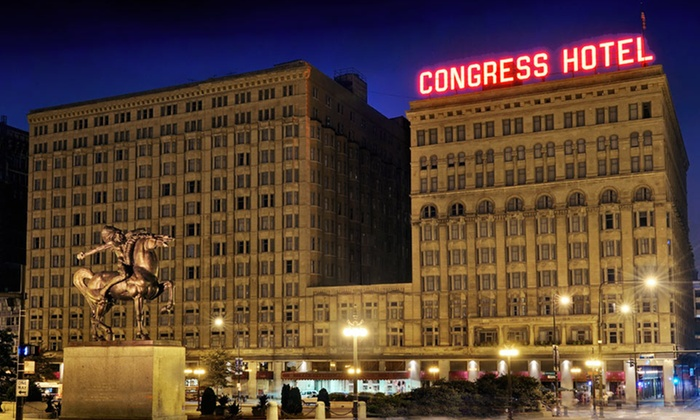 null - Chicago: Stay at The Congress Plaza Hotel in Chicago's Loop, with Dates Available into March