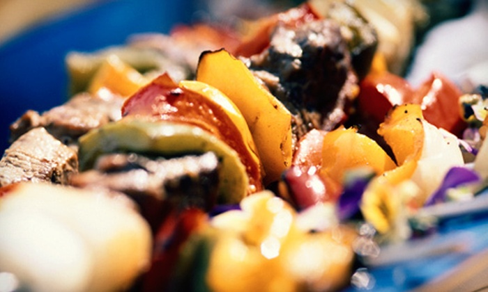 Shish Kabob - Multiple Locations: $15 for $30 Worth of Middle Eastern Dinner Fare at Shish Kabob. Two Locations Available.