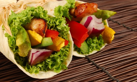 $6.99 for $10 Worth of Salads, Wraps, and Flatbreads at Green Market Cafe