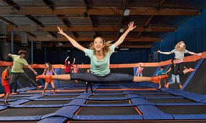 Sky Zone : Two 60-Minute Jump Passes at Sky Zone Suwanee (Up to 50% Off). Two Options Available.