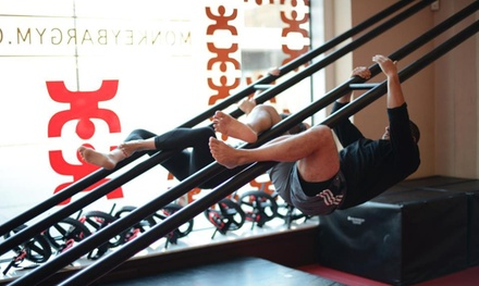 $39 for 10 Fitness Classes at Monkey Bar Gym ($200 Value)