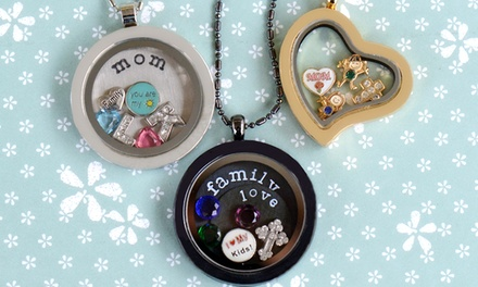 groupon daily deal - Personalized Jewelry from Stamp the Moment (Up to 61% Off). Two Options Available.