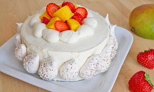 Antojitos Unlimited: Full-Size Cakes and Personal-Sized Pastries at Antojitos Unlimited (Up to 44% Off). Two Options Available.
