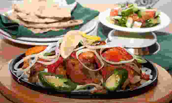 Basmati Grill - Plymouth Park North: Indian and Asian Fusion Dinner for Two or Four at Basmati Grill (Half Off)