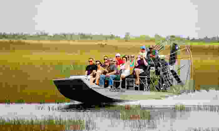 Coopertown Airboats - Everglades: Everglades Airboat Tour for One, Two, or Four from Coopertown Airboats (Up to 29% Off)