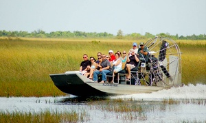 Coopertown Airboat Tours: Everglades Airboat Tour for One, Two, or Four at Coopertown Airboat Tours (Up to 37% Off)