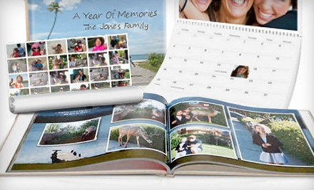 $75 Groupon Towards Classic Photo Books, Calendars, Cards, and Collage Posters - Picaboo in